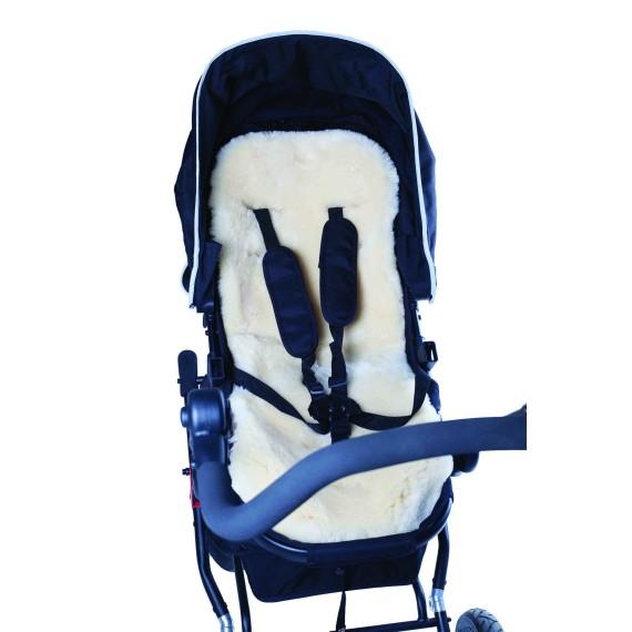 Easygrow Lamb skin stroller