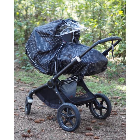 Regnskydd for barnvagn
