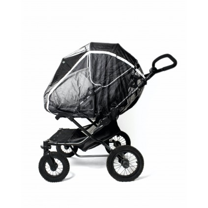 Mosquito net twin stroller w/zipper